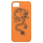 Dragón adornado iPhone 5 Case-Mate fundas