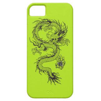 Dragón adornado iPhone 5 fundas