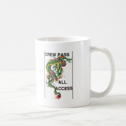 DRAGON ALL ACCESS PASS COFFEE MUG