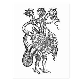 dragón alquímico postal