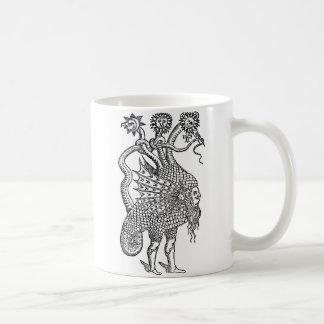 dragón alquímico taza