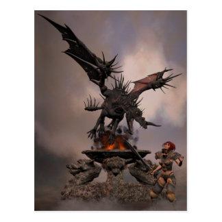 Dragon Altar Postcard