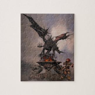 Dragon Altar Jigsaw Puzzle