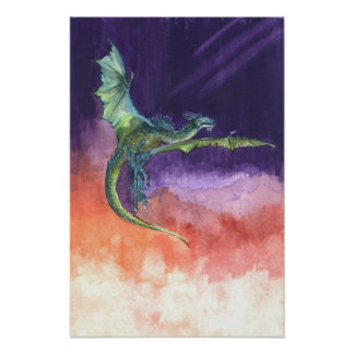 Dragón altísimo impresiones