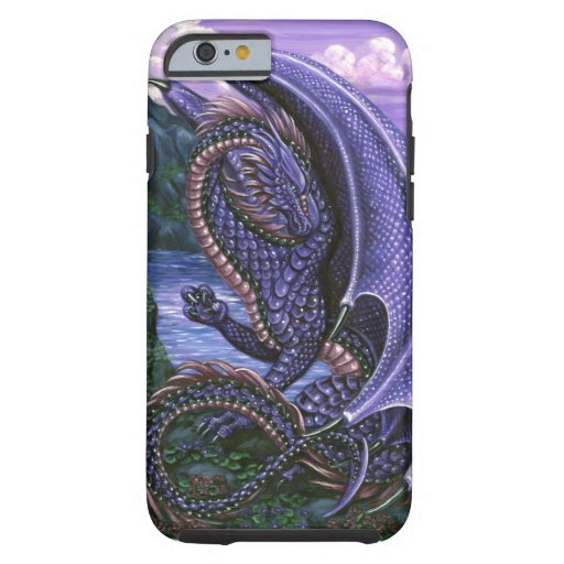 Dragón Amethyst Funda De iPhone 6 Tough