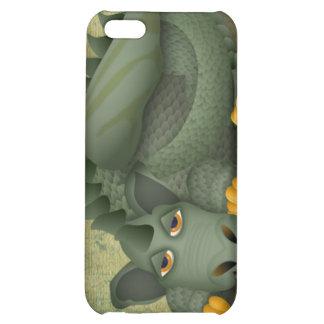 dragón amistoso verde