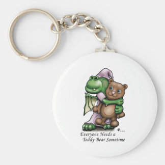 Dragon and Bear Color Mug Keychain
