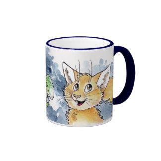Dragon and Cat Mug