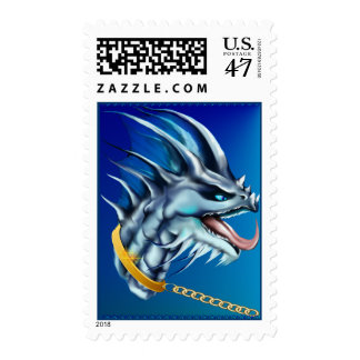 Dragon and Gold Chain Postage
