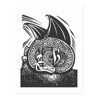 Dragon and Horde Postcard