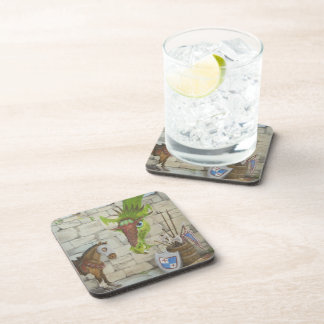 Dragon and Horse Coasters