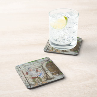 Dragon and Knight Coasters