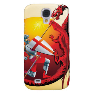 Dragon and Knight Galaxy S4 Case