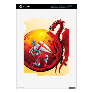 Dragon and Knight iPad 3 Skins