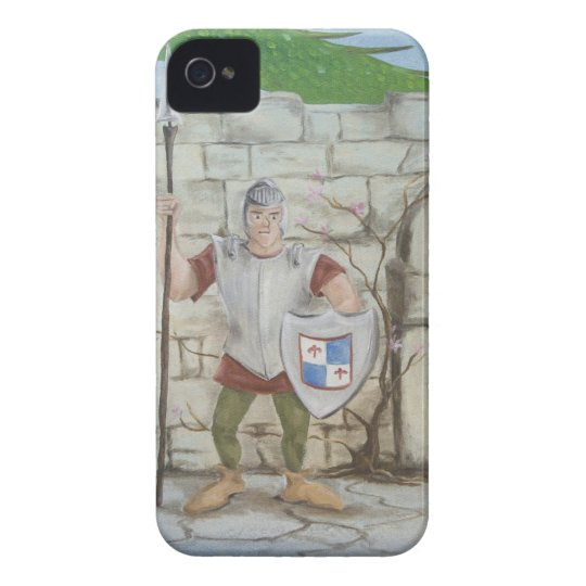 Dragon and Knight iPhone4/4S Case
