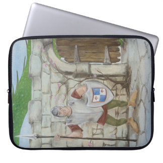 Dragon and Knight Laptop Sleeve