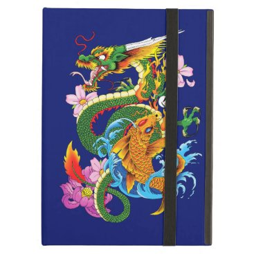 Dragon and Koi Case For iPad Air