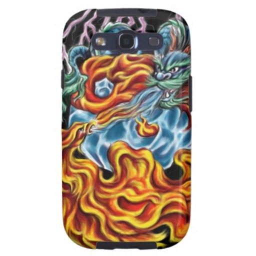 Dragon and Phoenix Galaxy III Case Galaxy S3 Cover