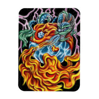 Dragon and Phoenix Magnet