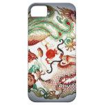Dragon and Phoenix Stencil iPhone SE/5/5s Case