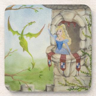 Dragon and Princess Coasters