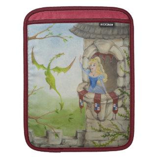 Dragon and Princess iPad Sleeve