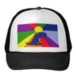 Dragon and Rainbow Sun Hat