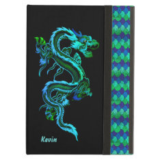 Dragon And Scales Custom Ipad Air Case at Zazzle
