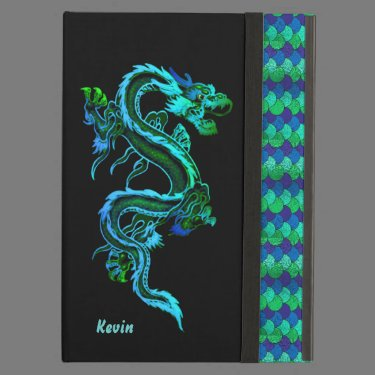 Dragon and Scales Custom iPad Air Case
