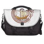 Dragon and Ship Laptop Bag