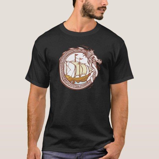 Dragon and Ship T-Shirt