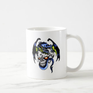 Dragon and Skull Mugs