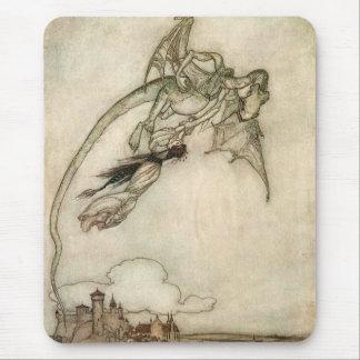 Dragon and the Princess Mouse Pad