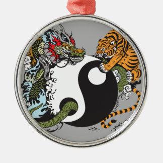 Yin Yang Dragon Tiger Ornaments & Keepsake Ornaments | Zazzle