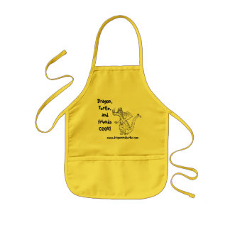 Dragon and Turtle picture book apron