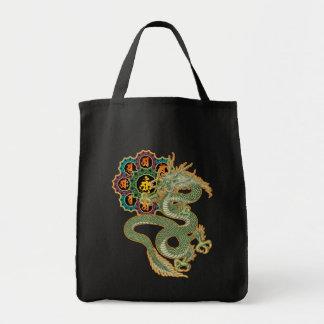 Dragon and uterine warehouse Mandara Tote Bag