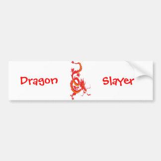 Dragón/Año Nuevo chino Pegatina Para Auto