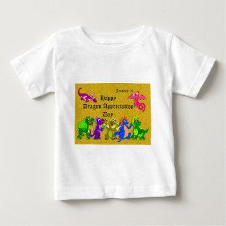 Dragon Appreciation Day January 16 Baby T-Shirt