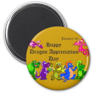 Dragon Appreciation Day January 16 Magnet