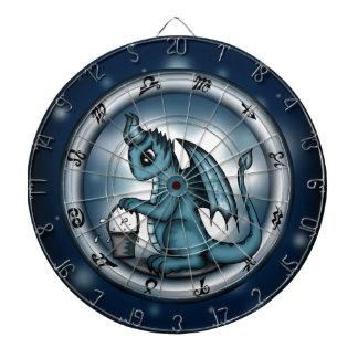 Dragon Aquarius Zodiac Dart Board
