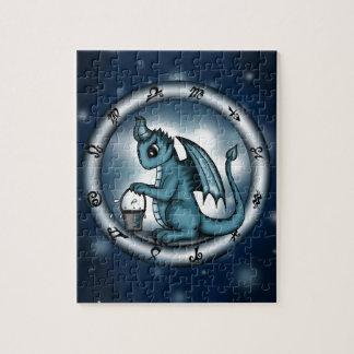 Dragon Aquarius Zodiac Puzzles