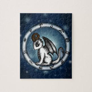 Dragon Aries Zodiac Jigsaw Puzzles