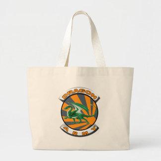 Dragon Army Jumbo Tote Bag