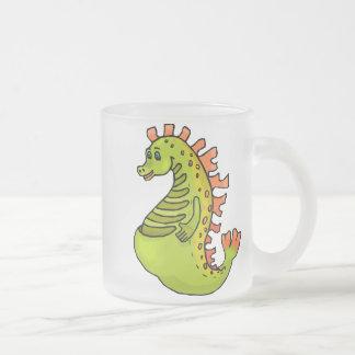Dragon Art 10 10 Oz Frosted Glass Coffee Mug