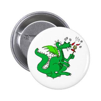 Dragon Art 1 Pinback Button