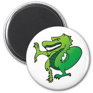 Dragon Art 27 2 Inch Round Magnet