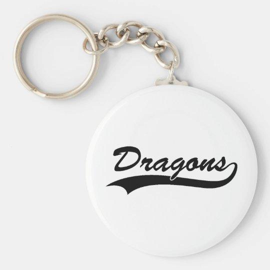 Dragon Art 3 Keychain