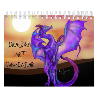 Dragon Art Calendar