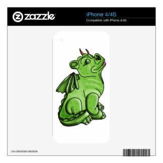 dragon art exclusive decal for the iPhone 4