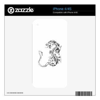 Dragon Art iPhone 4 Skins